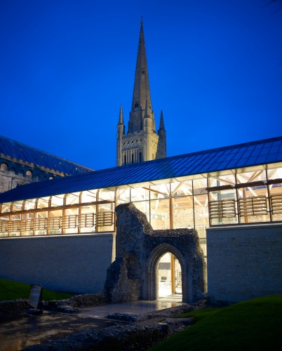 Architectural Glazing Project Norwich Cathedral Hostry