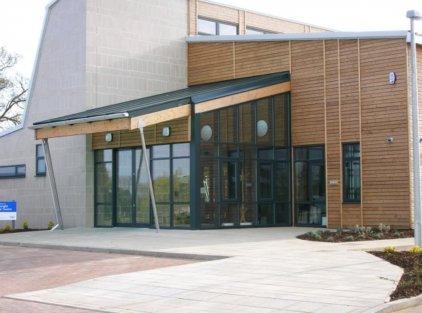 ... canopy · External glazed entrance lobby ... & Canopies porches lobbies and shelters | Anglian Architectural Ltd