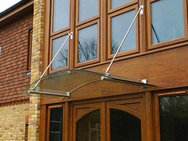Canopies, porches, lobbies and shelters | Anglian Architectural Ltd
