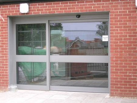 Automatic Entrance Doors From Anglian Architectural Ltd