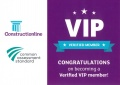 Anglian Architectural Awarded Constructionline VIP