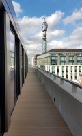 Alucobond Cladding overlooking BT tower