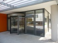 Swing door and revolving door