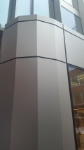 Satin Silver Anodised Panels