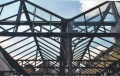 Steel-frame canopy