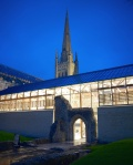 Norwich Cathedral Hostry