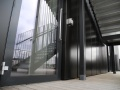 Large Swing Doors Into Rainscreen