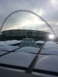 Bespoke Schuco SG Rooflight Overlooking Wembley Stadium