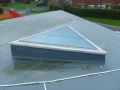 Triangular rooflight